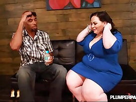 Big Booty Gets pussy Destroyed By Big Black girl with huge mamba Cock