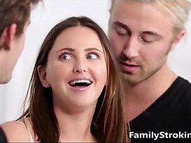 Teen Step Sister Fucked By Both Her Brothers