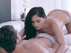 Sensual tease leads to passionate fuck