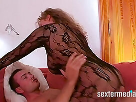 Big ass big tits gets her pussy MILF picked up for juicy fucking till cum in ass