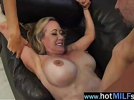 Hot Big Tits Milf brandi janice Ride Hard sex with black mamba Dick On Tape