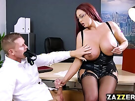 Emma butts pussy and fuck by a huge black cock