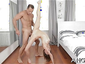 Ravaging a massive male penis