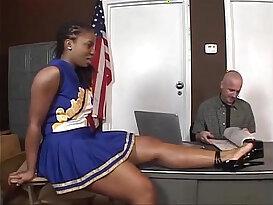Tara ebony cheerleader