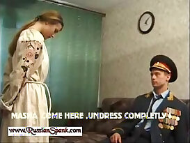 Russian hottie is about to get punished