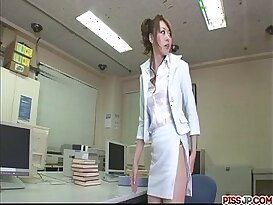 Fondled and fucked real hard from behind in the office