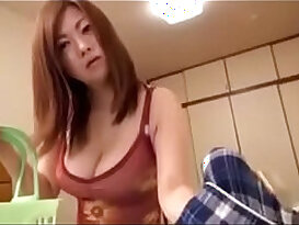 Japanese Asian loves fuck each other with Son