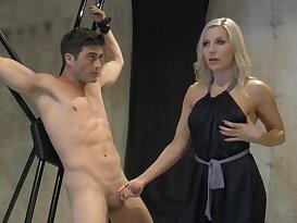 Edged sex slave training