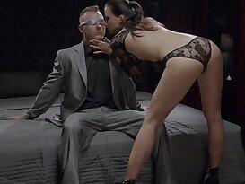 Lauren gets creampied in sensual fantasy fuck