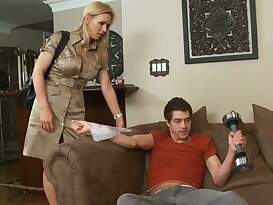 Tanya Tate and her son\'s friend