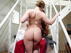 Housewife gets fucked from behind